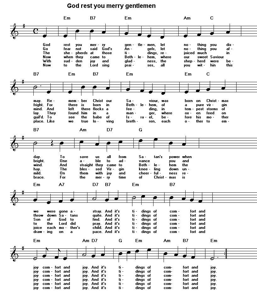 Lyric guantanamera lyrics : Free sheet music for traditional songs