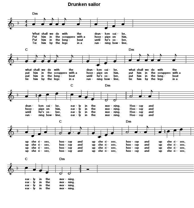 Lyric guantanamera lyrics : Free sheet music for traditional songs